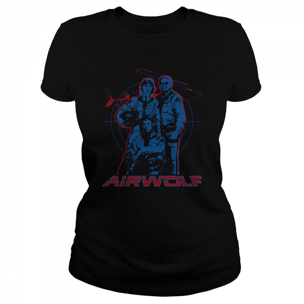 Cast Airwolf T- Classic Women's T-shirt