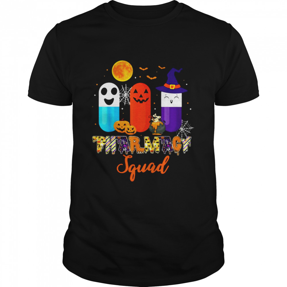 Pills Pharmacy Pharmacist Squad Halloween Costume Shirt